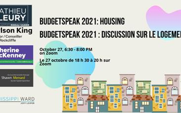 As We Heard It: A Report on the 2021 BudgetSpeak Meeting
