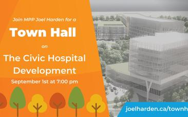 Bulletin du quartier Capital: l'hopital Civic, le nouveau Plan Officiel, et de la construction partout