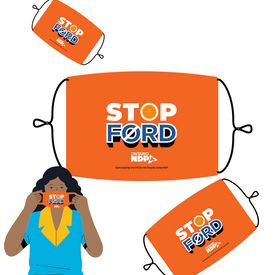 Stop Ford Masks