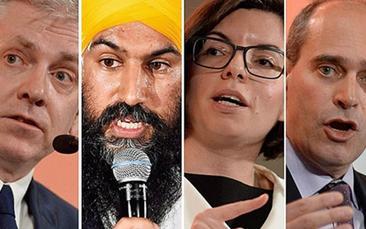 Leadership Debate Viewing Party