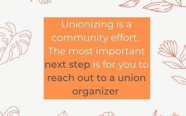 Unionize Your Workplace