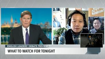 Federal candidates discuss key election issues leading up to English-language debate