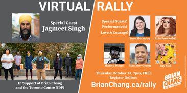 Brian Chang Virtual Rally