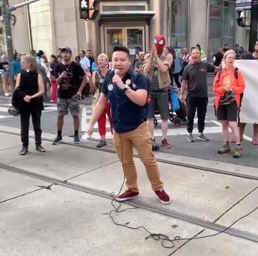 Brian Speaks at Extinction Rebellion