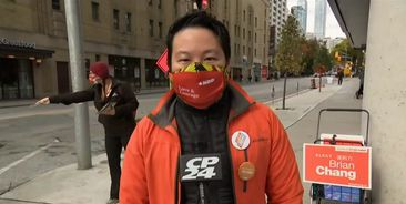 CP24 with George Lagogianes