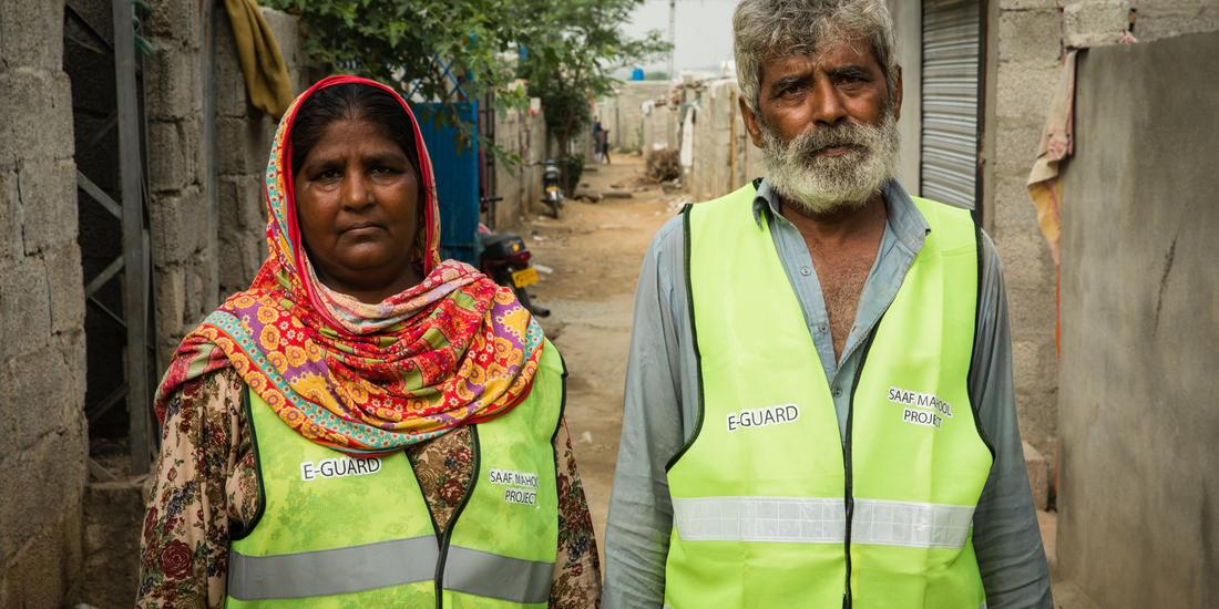 MEET THE MARRIED E-GUARDS WHO PLAY A KEY ROLE IN CLEANING UP THEIR COMMUNITY