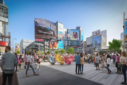 New pedestrian-friendly Yonge St. to include event spaces and curbside patios