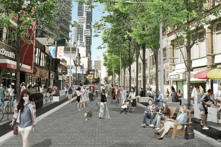 New plan for downtown Yonge Street includes pedestrian-only zones and bike lanes