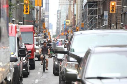 Yonge St. bike lane would prove hugely popular